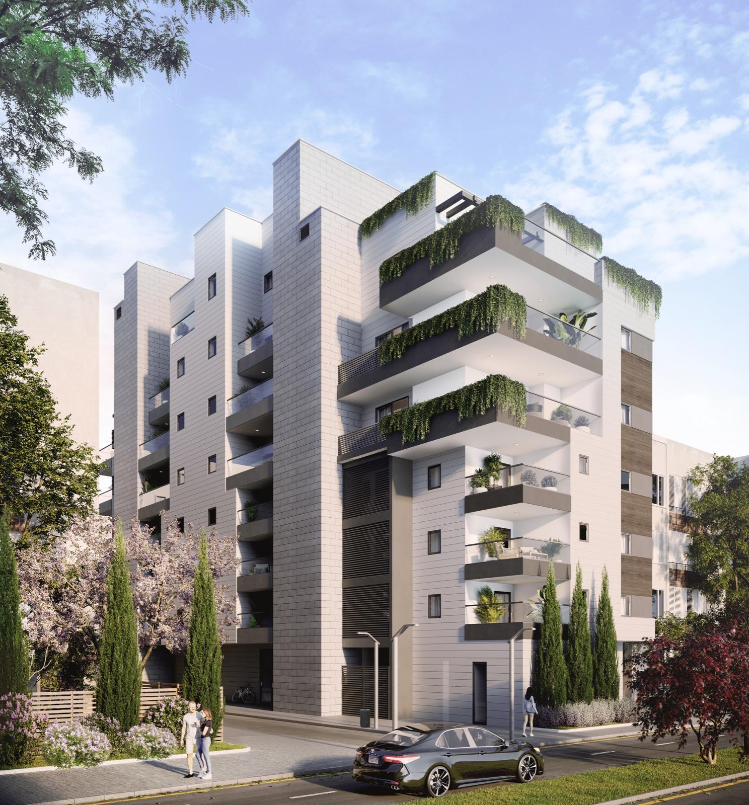 Projet d'appartement neuf dans un projet au coeur de Raanana