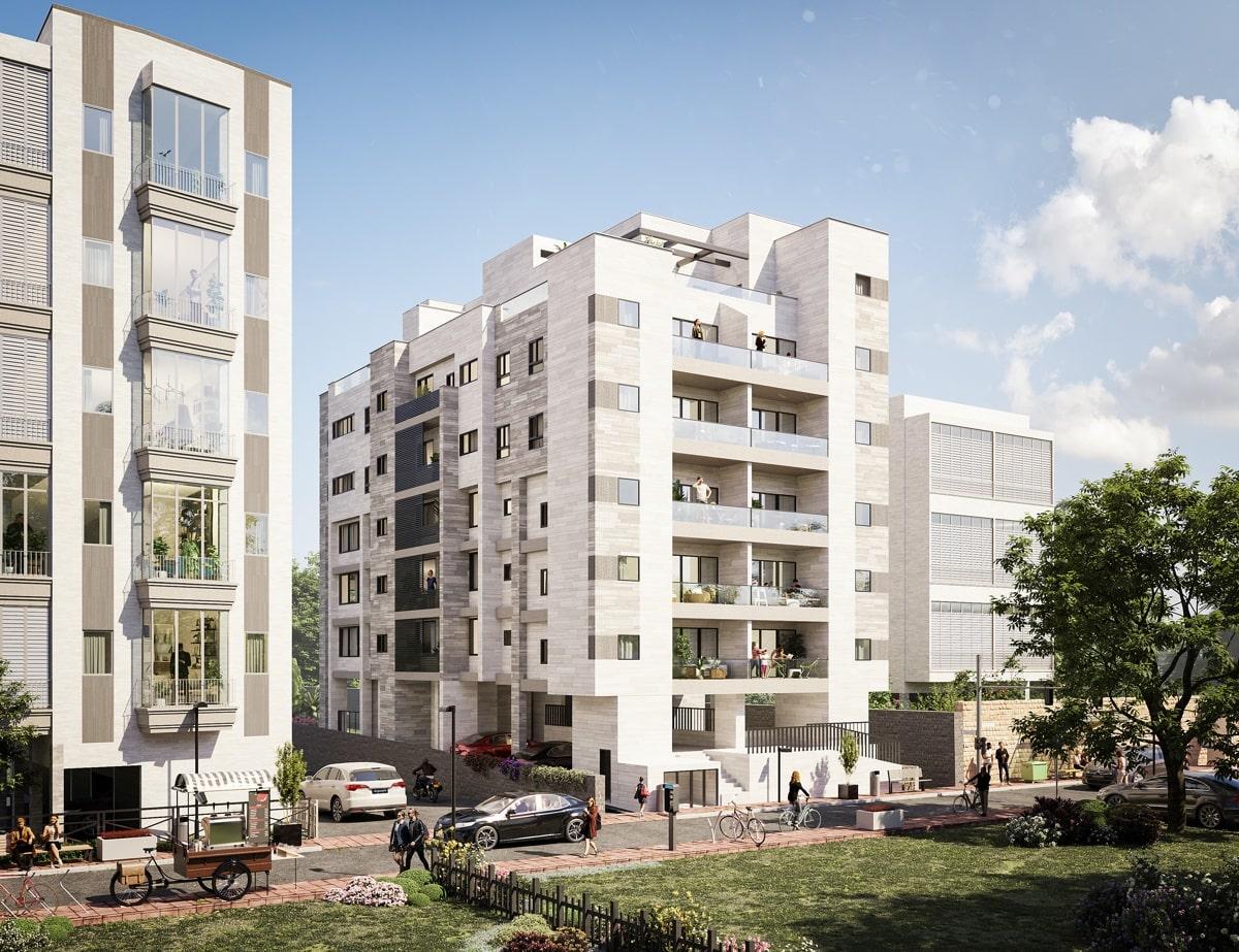 Projet appartements neufs à Raanana centre